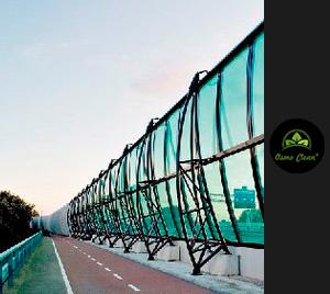 Autobahn-Schallschutz