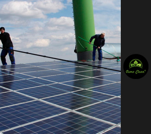 Photovoltaik-Reinigung