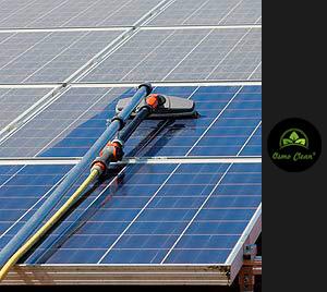 Solarzellen-Reinigung
