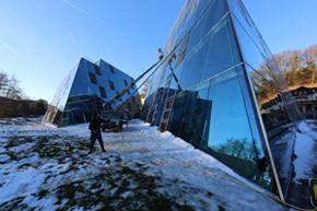 Glasfassadenreinigung, Wollerau SZ