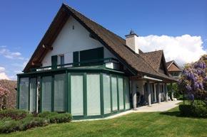 Villa, Komplette Aussen- und Wintergartenreinigung, Wollerau SZ