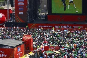 Fussball WM in Brasilien 2014 in Zürich