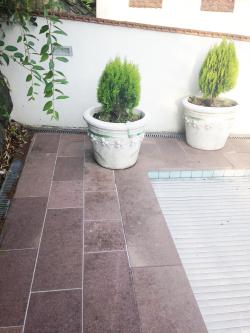 garten terrassen reinigung