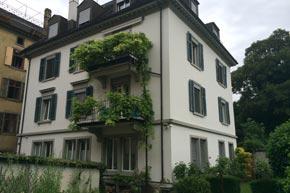 Komplette Fenster- und Storenreinigung, Zürich