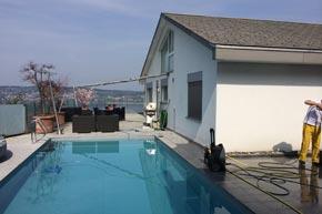 Pool- und Aussenbereichreinigung, Wollerau SZ