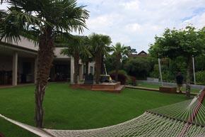 Gartenbau, Planung und Umsetzung, Villa, Hurden SZ