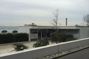 Terrassenüberbaung, Aussenreinigung, Bäch SZ