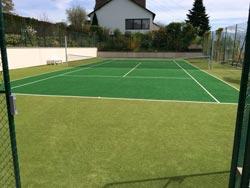 tennisplatz reinigung osmo clean