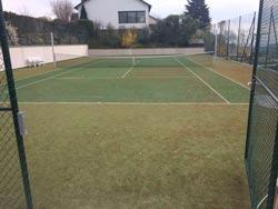 tennisplatz reinigung