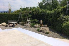 Garten Unterhaltsarbeiten, Villa, Lachen SZ