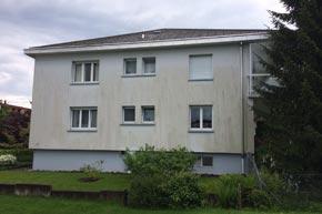 Komplette Fassadenreinigung, MFH, Lachen SZ