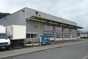 Dach-, Vordach- und Reklamentafelreinigung, Schmerikon SG