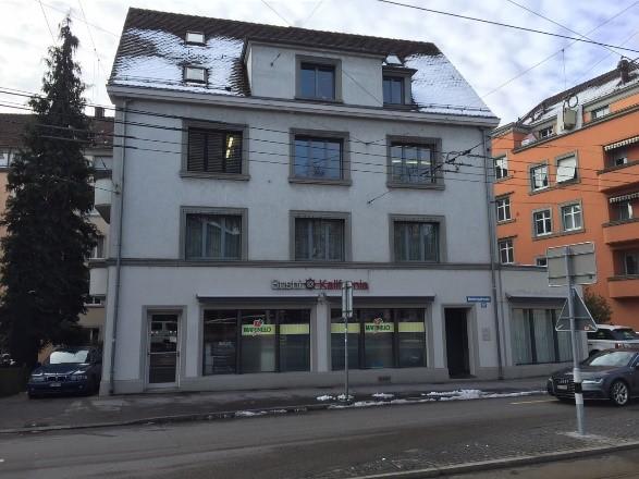 Fassadenreinigung Geschäftshaus Zürich1