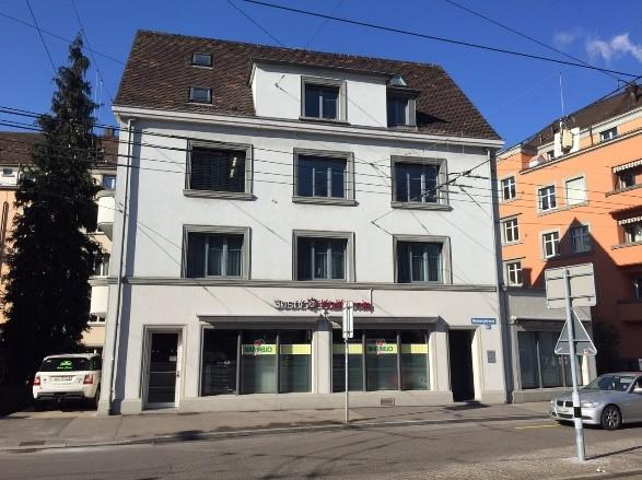 Fassadenreinigung Geschäftshaus Zürich2