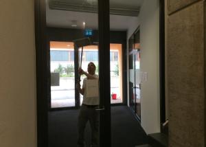 Unterhaltsreinigung Geschäftshaus Zug September