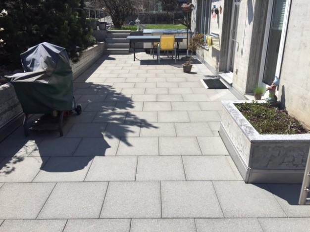 Terrassenreinigung Nachher