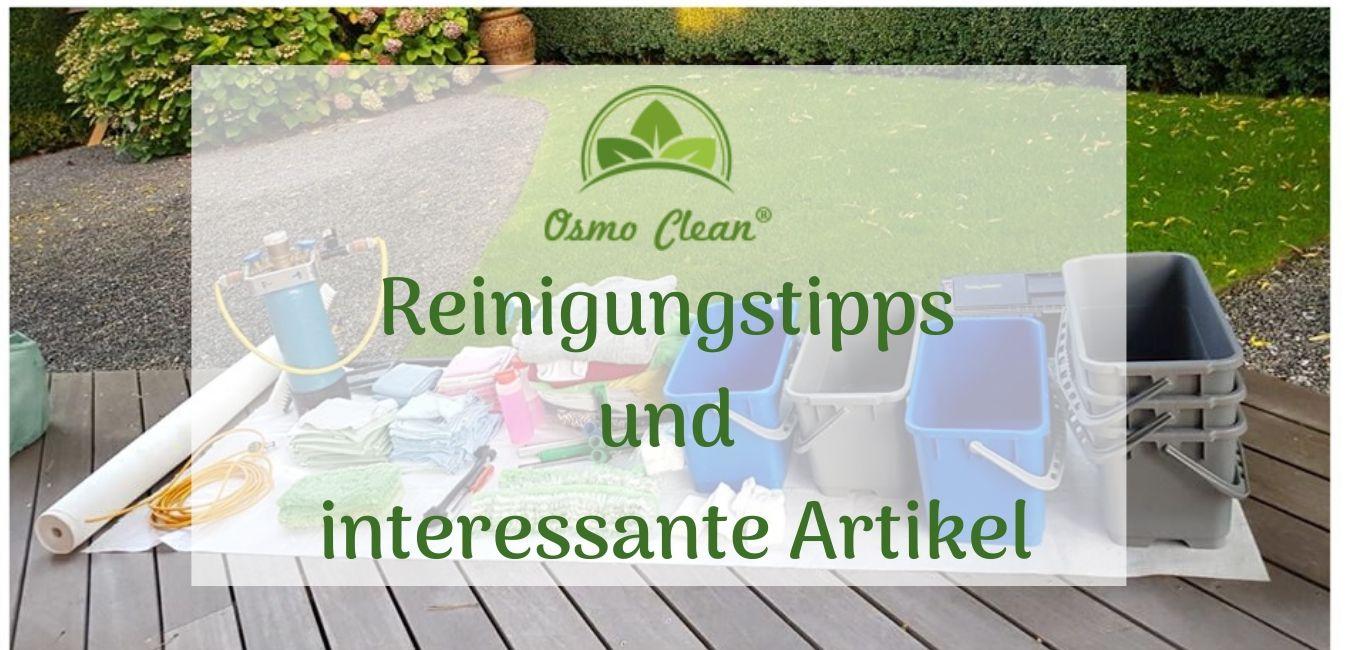 Reinigungstipps und interessante Artikel