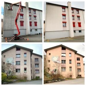 Fassadenreinigung Zürich osmo-clean
