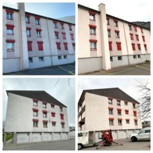 Fassadenreinigung Zürich osmo clean