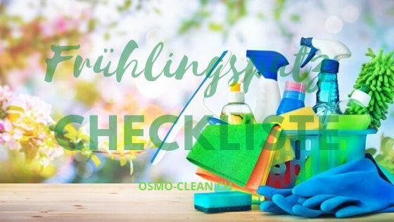Frühlingsputz Checkliste
