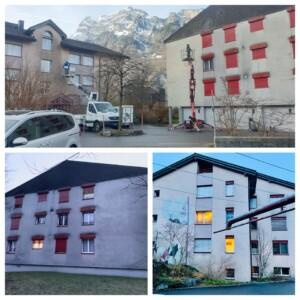 Professionelle Fassadenreinigung Zürich