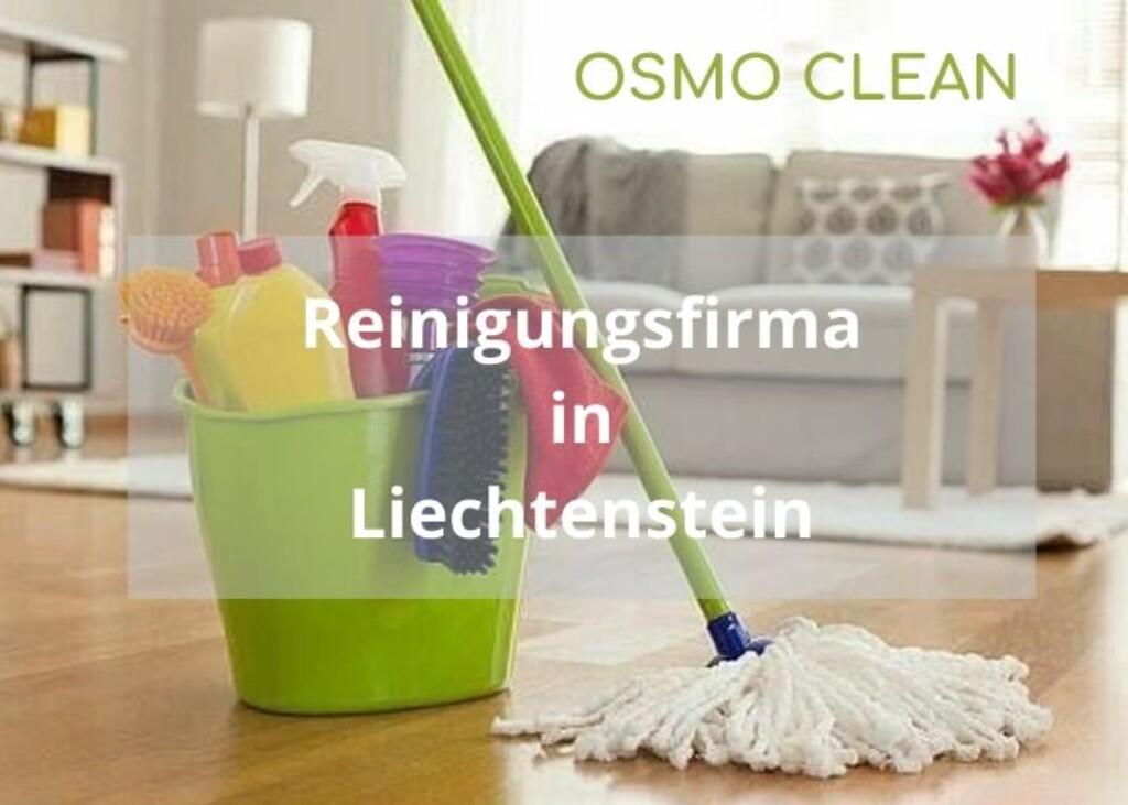 osmo clean reinigungsfirma in liechtenstein