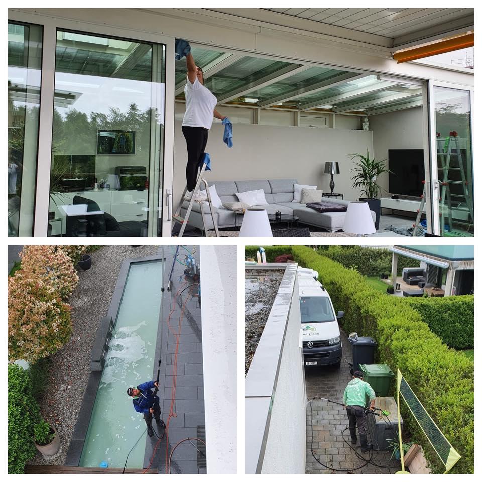 terrassenüberdachung glas reinigen