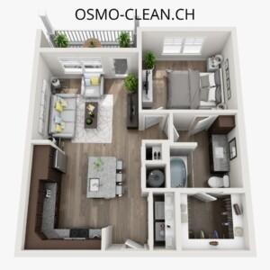 wohnungsreinigung checkliste osmo clean