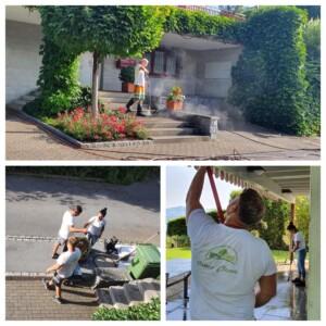 Gartenterrassenreinigung Osmo Clean
