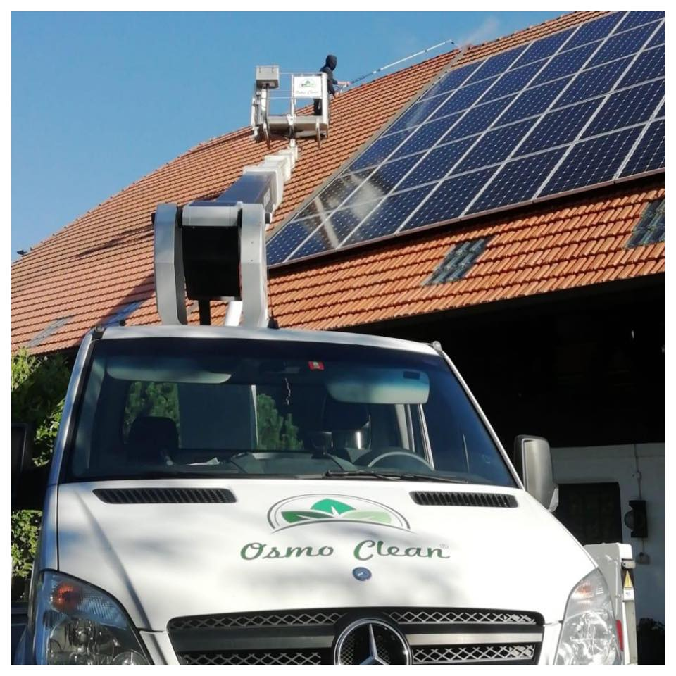 osmo clean photovoltaik reinigen lassen