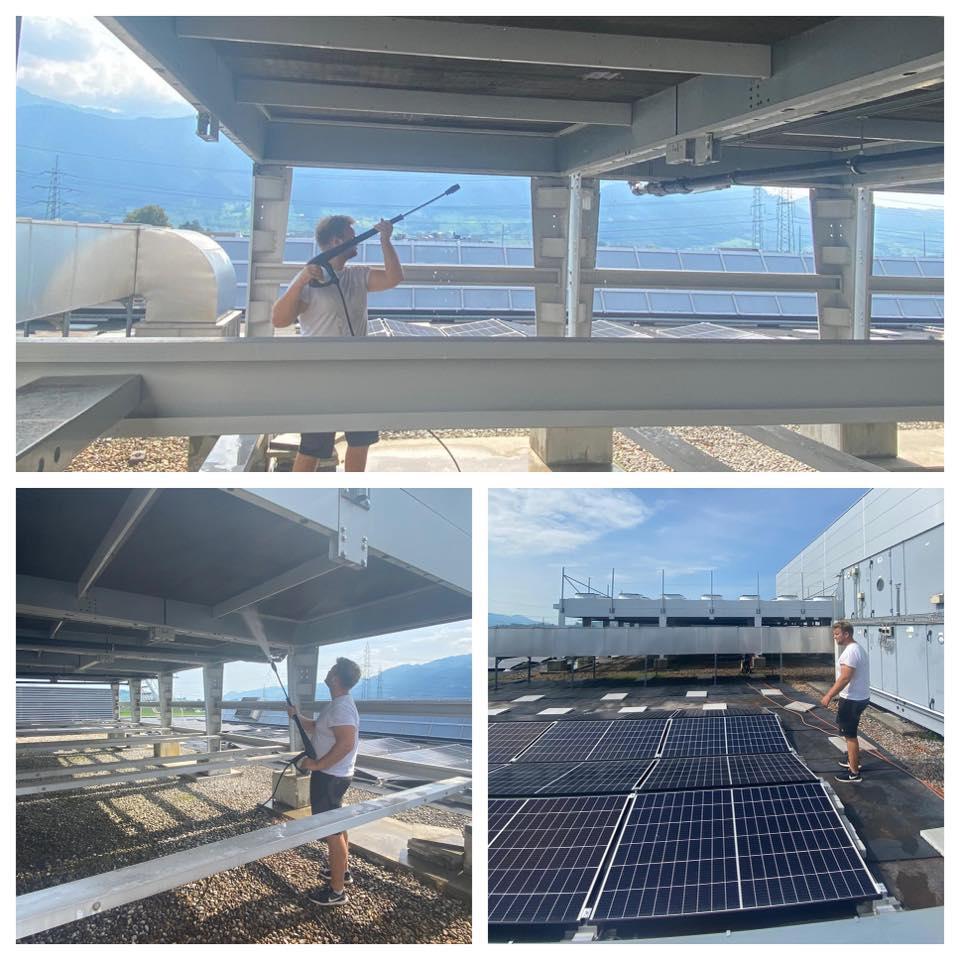 photovoltaik reinigen lassen