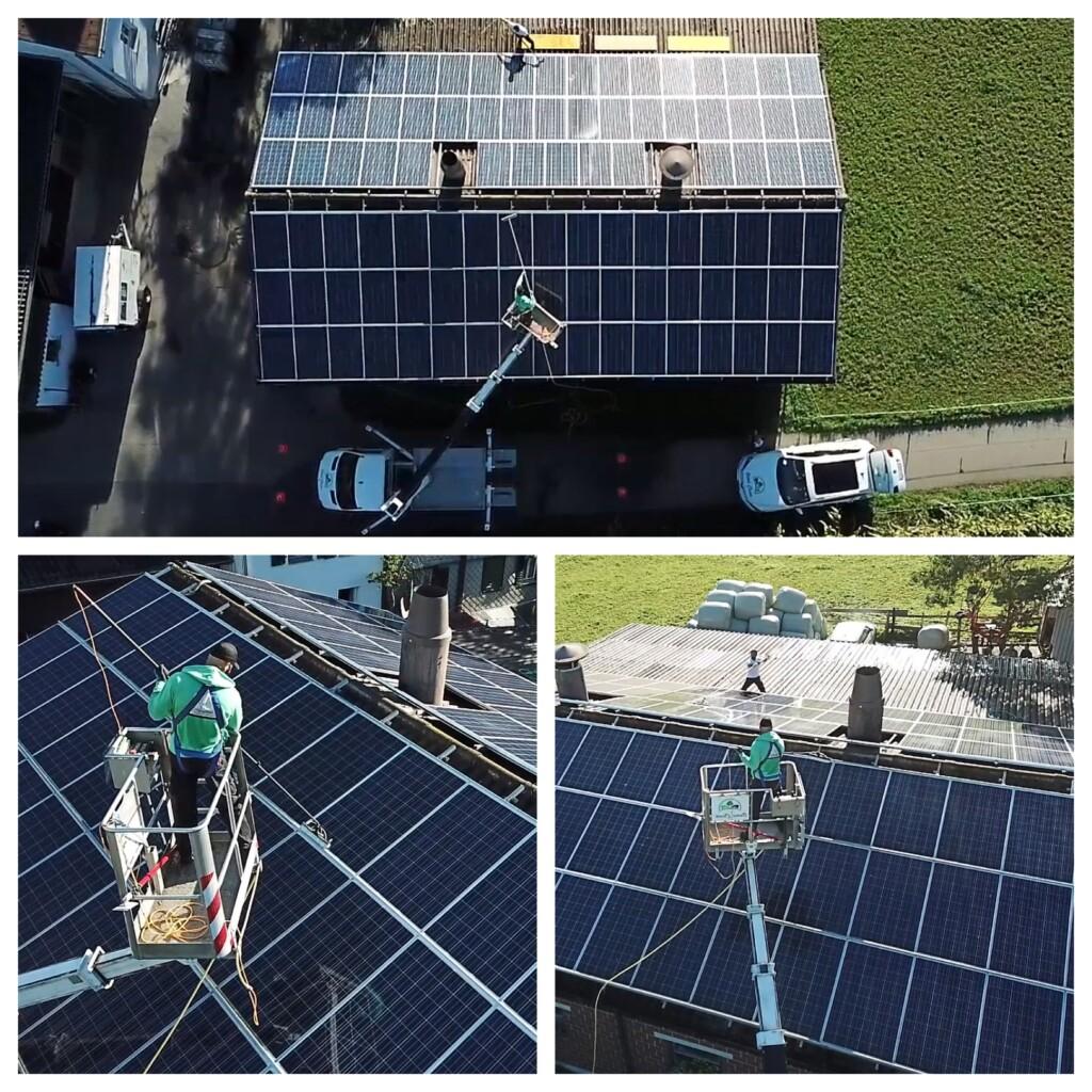 soll man photovoltaikanlagen reinigen