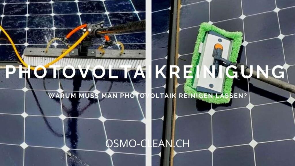 warum muss man photovoltaik reinigen lassen